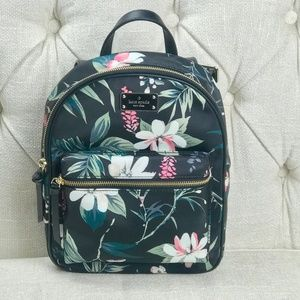 NWT Kate Spade Small Bradley Floral Backpack